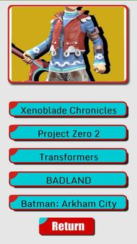Characters Quiz - Nintendo screenshot 1