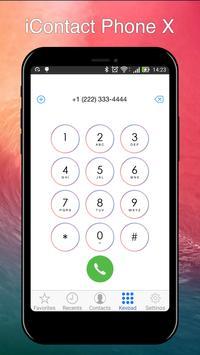 iContact Phone X screenshot 1