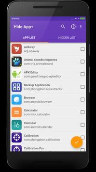 Ẩn ứng dụng phiên bản + ảnh chụp màn hình 4
