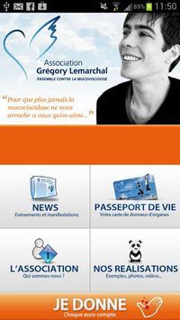 Association Grégory Lemarchal poster