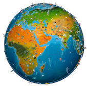 World map atlas 2018 apk download free education app for android world map atlas 2018 apk gumiabroncs Images