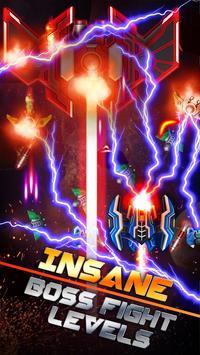 Galaxy Space Shooter - Phoenix Space Alien Attack स्क्रीनशॉट 1