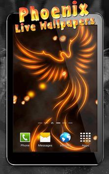 Phoenix Live Wallpaper apk screenshot