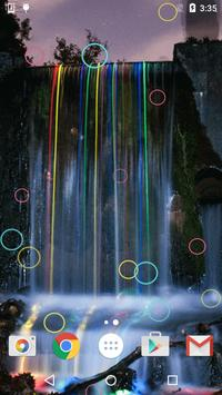 Neon Waterfalls Live Wallpaper screenshot 10