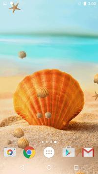 Sea Shell Live Wallpaper HD poster