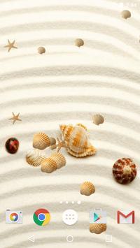 Sea Shell Live Wallpaper HD screenshot 5