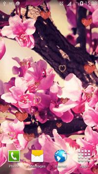 Vintage Flowers Live Wallpaper apk screenshot