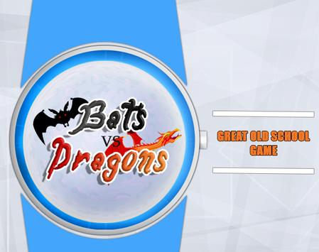 Bats vs Dragons For Wear apk screenshot