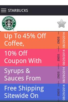 Coffee Coupons screenshot 4