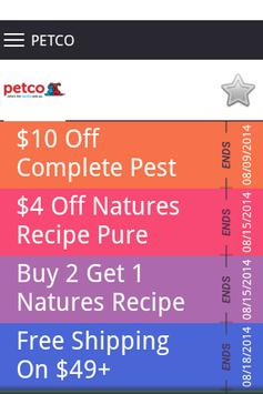 Pet Coupons apk screenshot