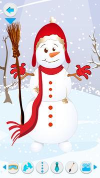 Make a Snowman poster