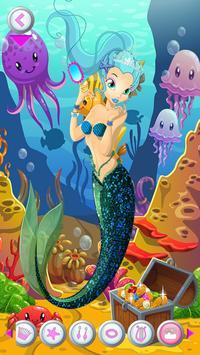 Mermaid Salon Dress Up Games apk screenshot