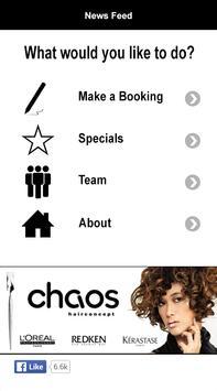 Chaos Hairconcept poster