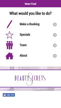 Beauty Secrets Rugby poster
