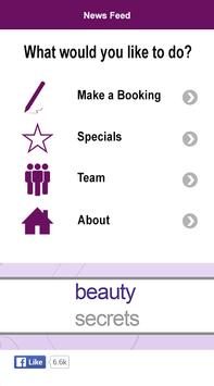 Beauty Secrets Spa App poster