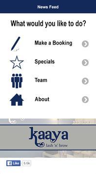 Kaaya Brow Bar poster