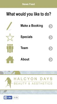 Halcyon Days Beauty And Aesthetics Rooms poster