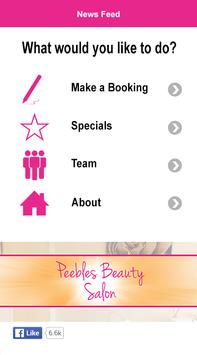 Peebles Beauty poster