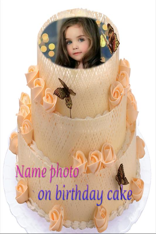 Birthday Cake Photo Frame For Android Apk Download
