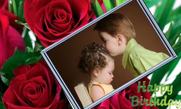 birthday photo frame screenshot 16