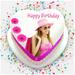 Photo & Name On Birthday Cake: HD Photo Frames