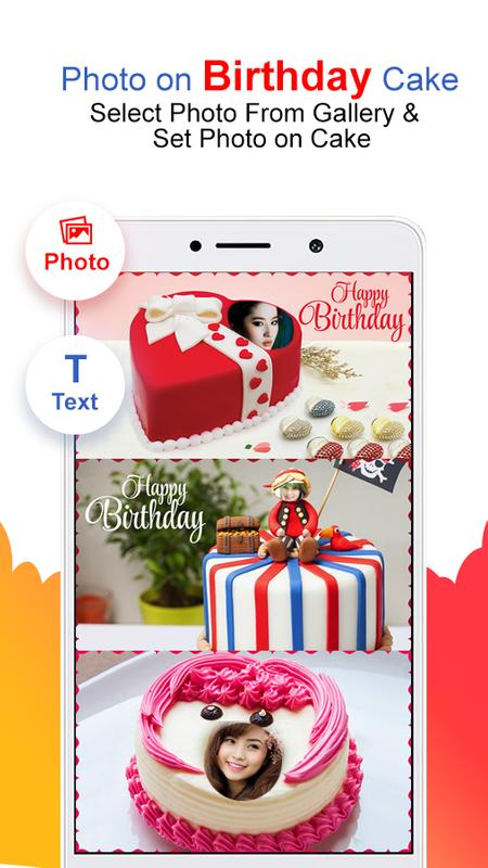Photo Name On Birthday Cake HD Frames Screenshot 7