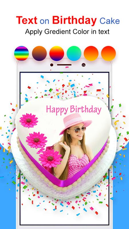 Photo Name On Birthday Cake HD Frames Screenshot 8