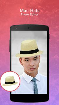 Man Hats Photo Editor screenshot 3