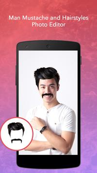 Man Mustache and Hairstyle screenshot 3