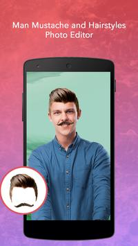 Man Mustache and Hairstyle screenshot 1