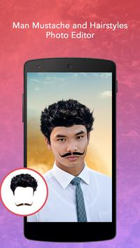 Man Mustache and Hairstyle screenshot 2