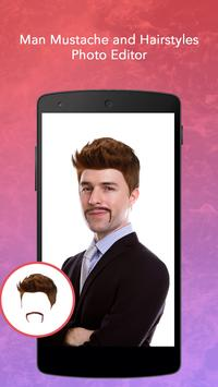 Man Mustache and Hairstyle screenshot 4