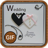 Wedding GIF, Images and Quotes icon