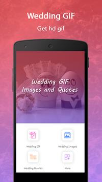 Wedding GIF, Images and Quotes poster