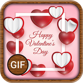Valentines day GIF, Images and Quotes icon