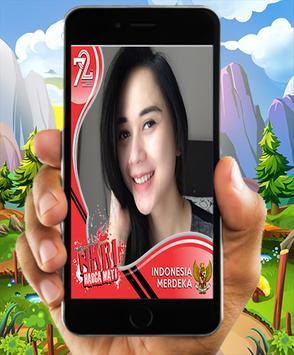Foto Bingkai Kemerdekaan RI poster
