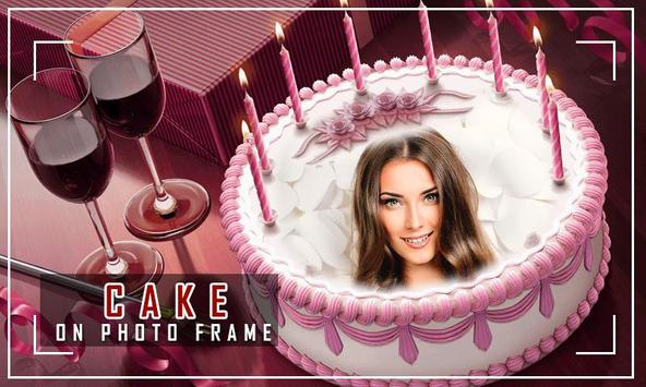 Birthday Cake Photo Frame screenshot 4