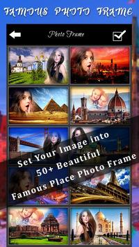 Famous Place Photo Frames poster