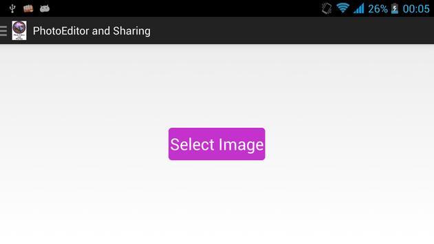 Photo Editor and Sharing apk screenshot