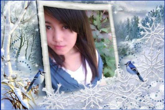 Photo Frame Winter apk screenshot