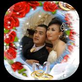 Weeding Photo Frame icon