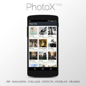 PhotoX Pro - PIP Photo Editor apk screenshot