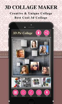 3D Photo Collage Maker poster