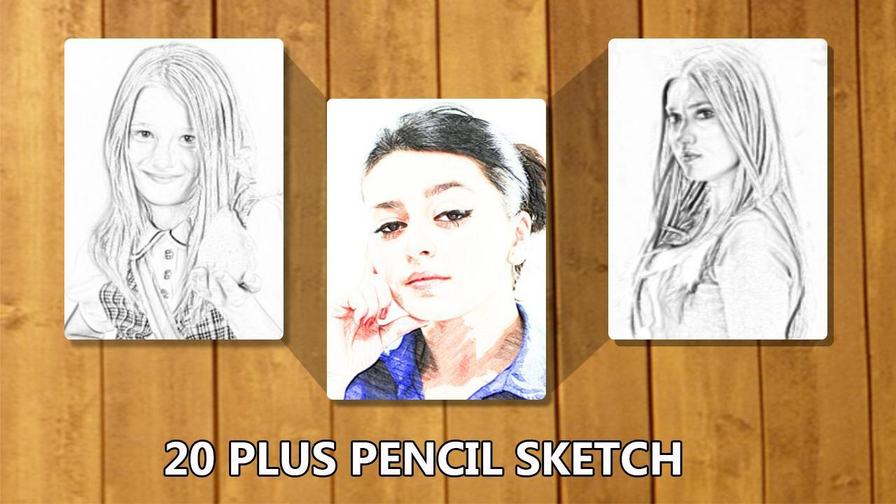 Photo to pencil sketch effects screenshot 3