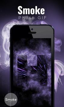 Smoke Photo GIF screenshot 3