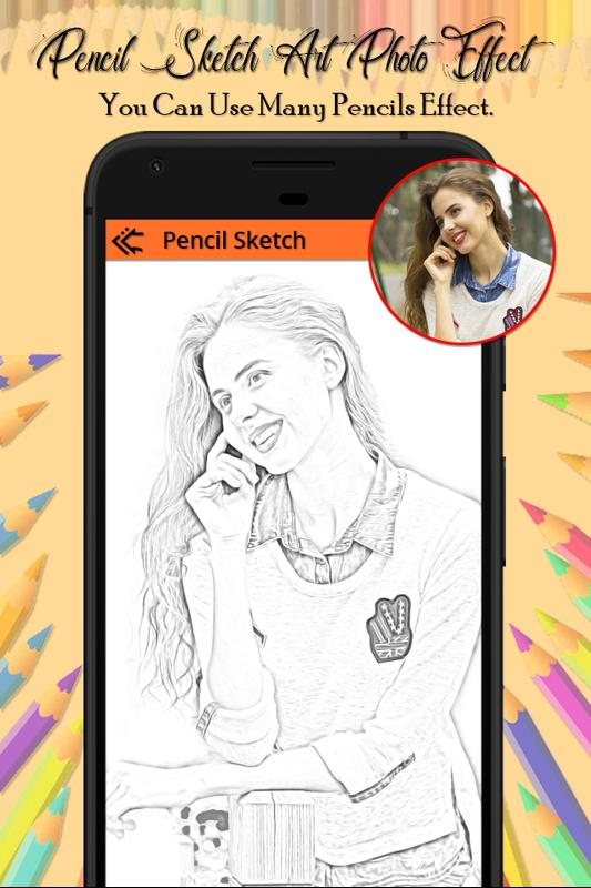 Pencil sketch art photo editor poster pencil sketch art photo editor apk screenshot