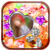 Diamond Love Photo Frames icon