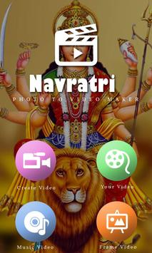 Navratri Video Maker Music poster