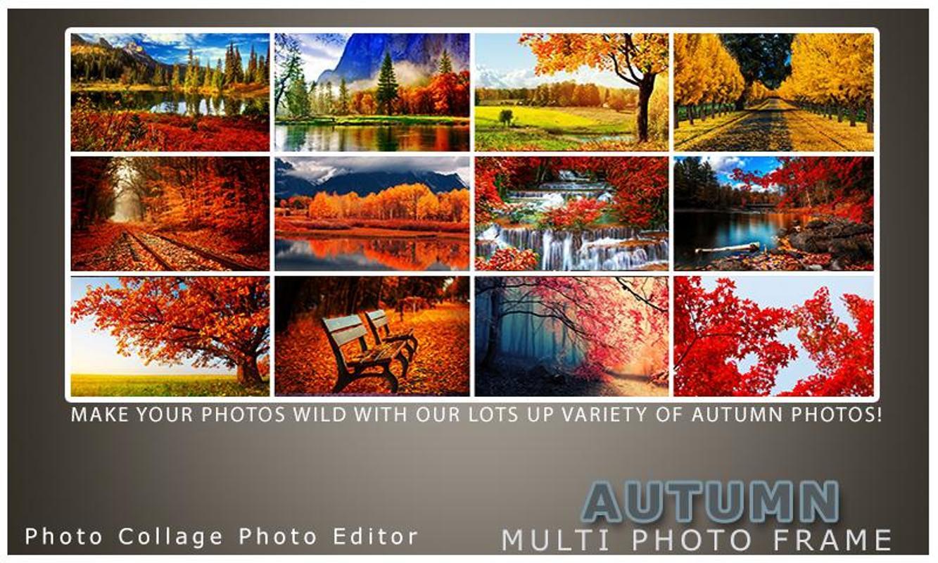 Autumn Photo Frame Dual Descarga APK - Gratis Fotografía Aplicación ...