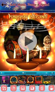 Diwali Video Maker with Music screenshot 2